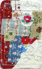 Leftovers from quilt ATC
