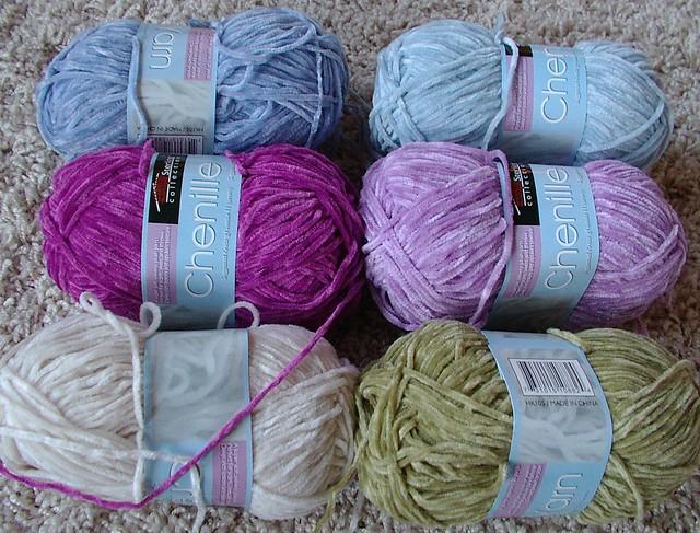 CHENILLE YARN CROCHET How To Crochet