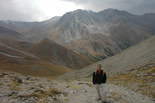 Dan Hiking in Tian Shan Mountains - Almaty, Kazakhstan