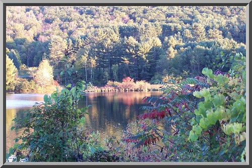 reflection water fallcolors newhampshire connecticutriver phixr
