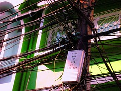 cables found in bangkok