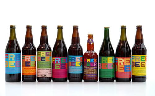 free beer bottles