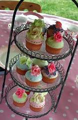 English Tea Party Cupcakes