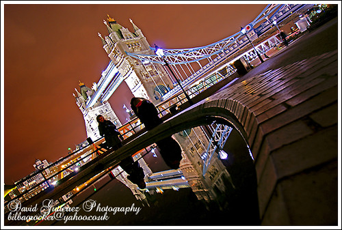 London - Looking in the London Mirror - Tower Bridge