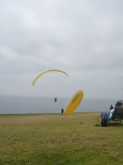 paragliding, parachute, air sports, sports, windsports, powered paragliding, extreme sport, flight,
