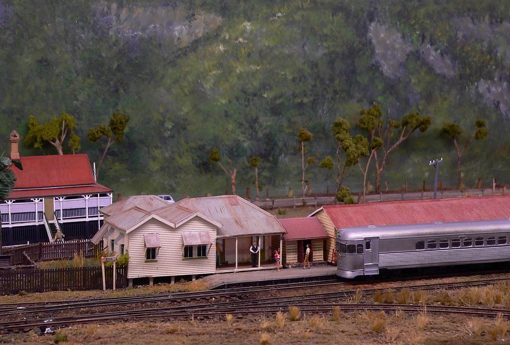 Esk Station by Leonard J Matthews