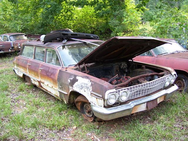 1963 chevrolet impala station wagon flickr photo sharing. Black Bedroom Furniture Sets. Home Design Ideas
