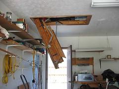 ladder, side view