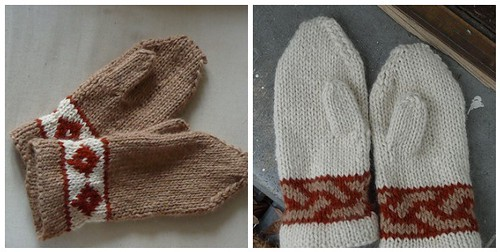 Mittens fit for French Cousins
