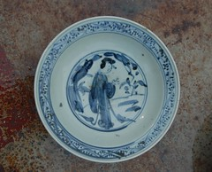 dishware, blue and white porcelain, plate, tableware, blue, porcelain,