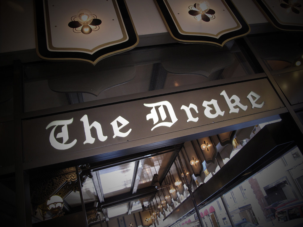 Main Entrance Signage ( The Drake Hotel, Chicago )