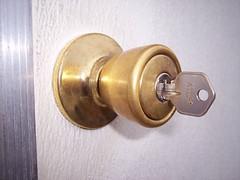 metal, door handle, lock, brass,