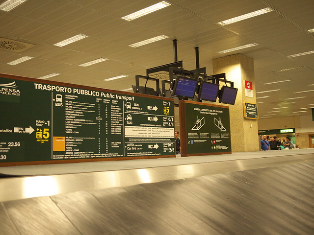 Car Hire Milan Airport Terminal