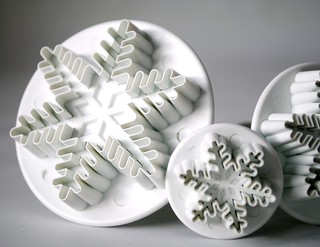 Snowflake plunge cutters