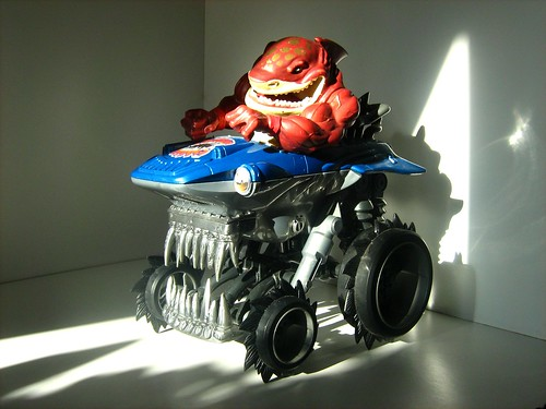 Street Wise Design Toys: Street Sharks (Animated TV Series) - Big Slammu and Sharkruiser 4x4 - 1 of 2