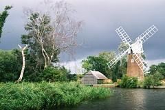 Windmill on the broads