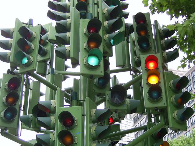 Traffic Light Indonesia Traffic Light Tree Near
