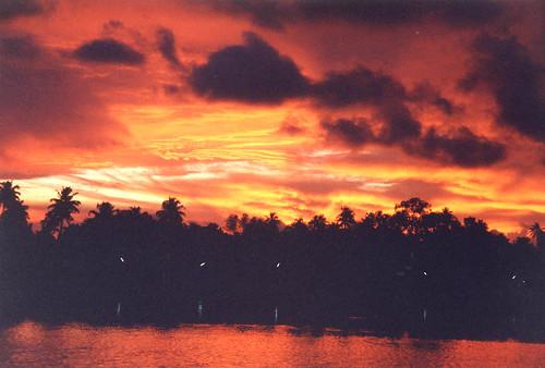 sunset india kerala kollam quilon ktdc kollom yatrinivas