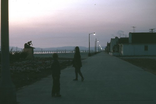 Dusk on the Strand, Hermosa Beach, California 1965