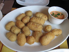 breakfast, croquette, arancini, mcdonald's chicken mcnuggets, food, dish, chicken nugget, cuisine, snack food, fast food,
