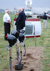 Groundbreaking for Really Cool Foods