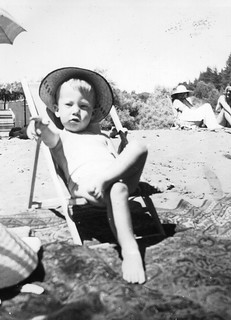Me directing my first archaeological project, Russian River, California, 1942