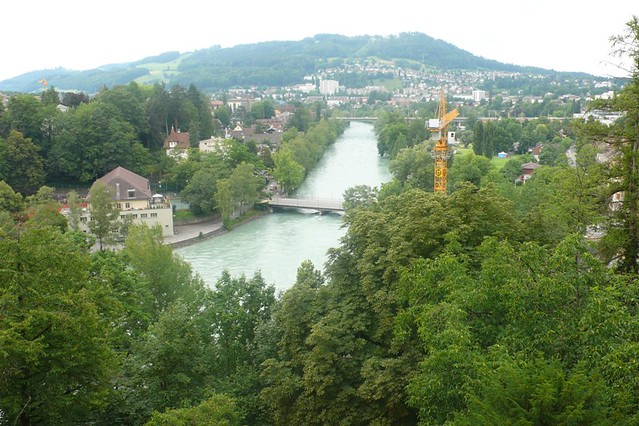 View of the River Aare in Bern