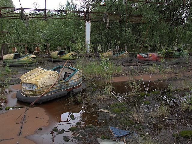 Pripyat - Bumper Cars  При́пять
