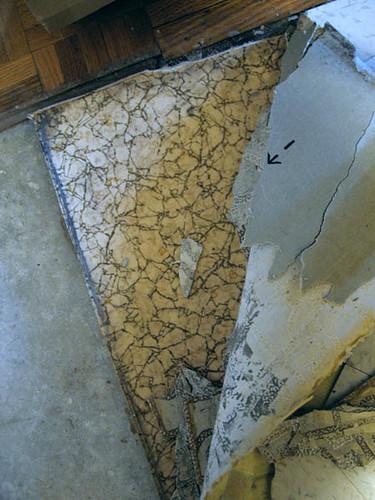 1960s flooring tearing up the vinyl floor i discovered for 1960s floor tiles