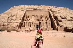 Basil at Abu Simbel