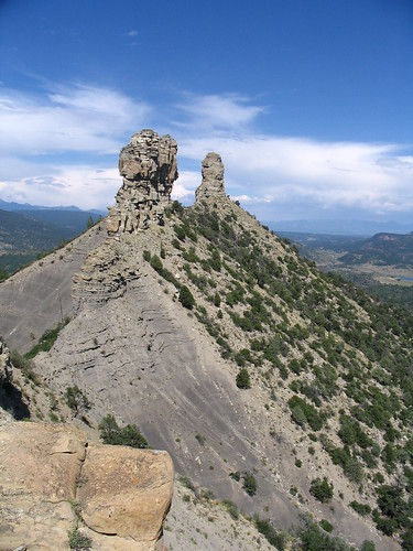 Chimney Rock and Companion Rock