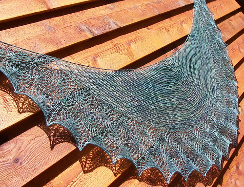 Aase's Shawl, Full Border