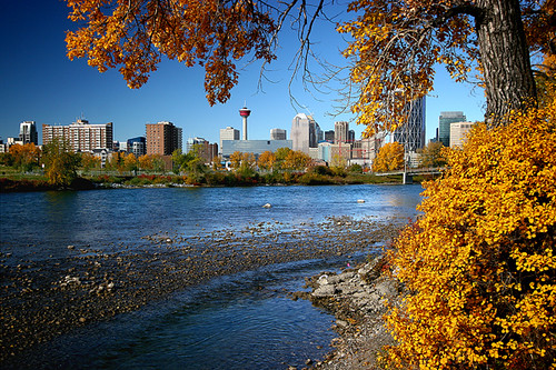 Calgary in Autumn