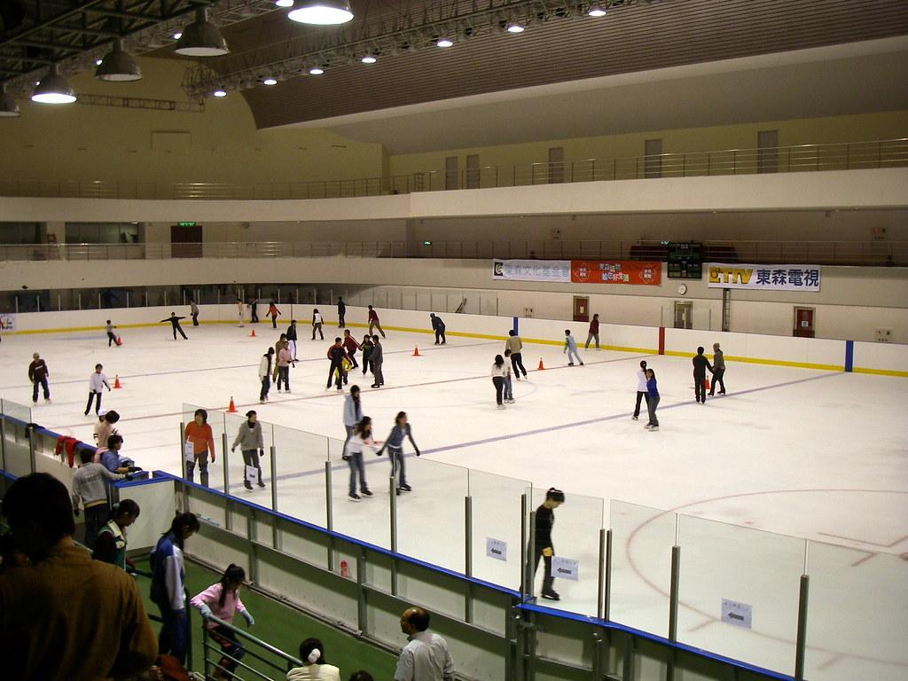 台北小巨蛋溜冰場