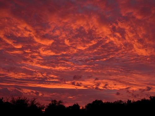 sunset ontario canada july 2007