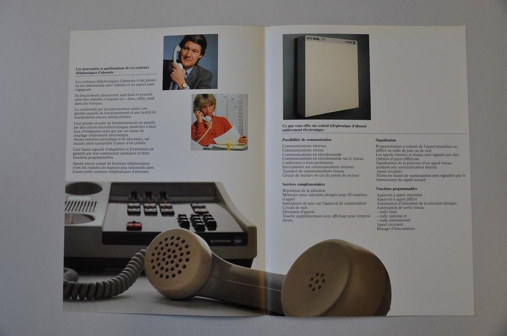 Autophon HTZ | Prospekt Autophon HTZ Haustelefonzentrale 70e… | Flickr
