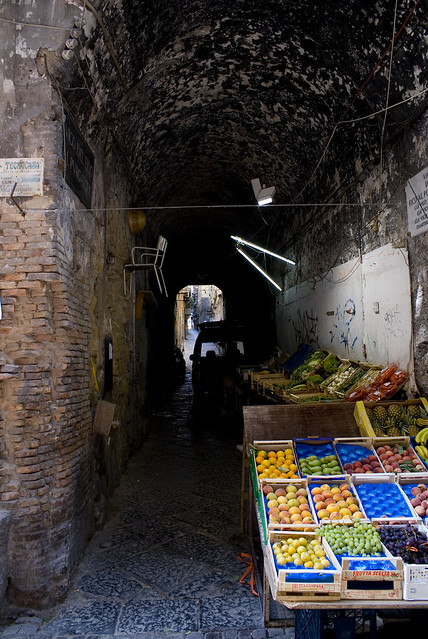 Fruitstand in an Alley