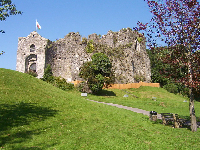 Oystermouth Castle | Flickr - Photo Sharing!
