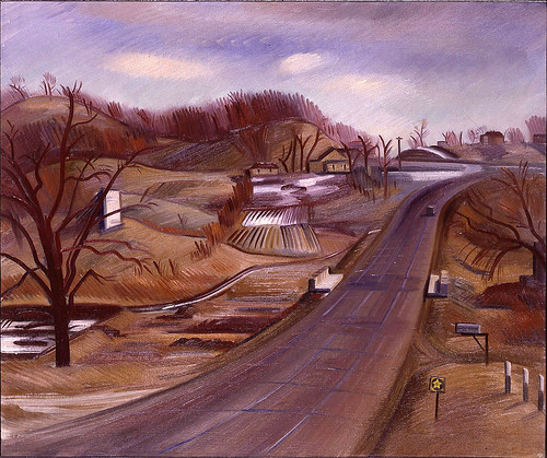 Erle Loran: Minnesota Highway, 1934