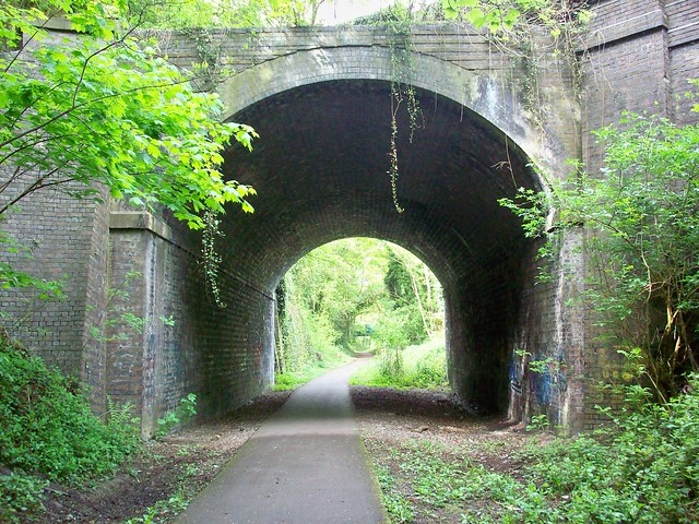 Rodborough Hill bridge 2
