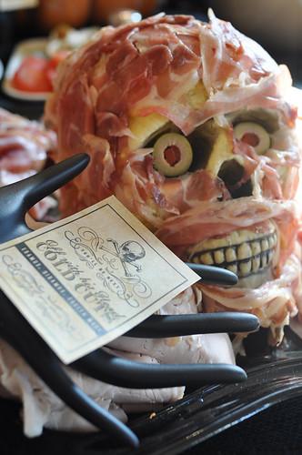 Halloween hijinks brooklyn limestone for Halloween dinner party food for adults