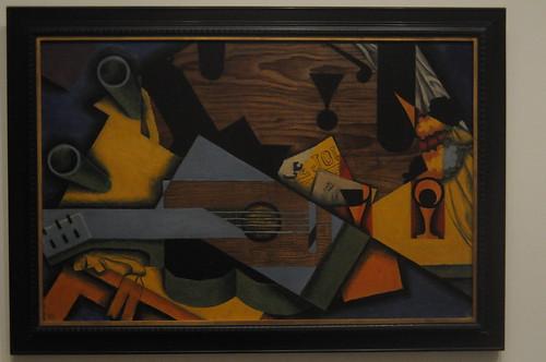 Still Life with a Guitar - Juan Gris 1913 Metropolitan Museum