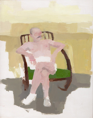 "Jennie Ottinger ""Lounge Chair (Scene from The Loved One)"""