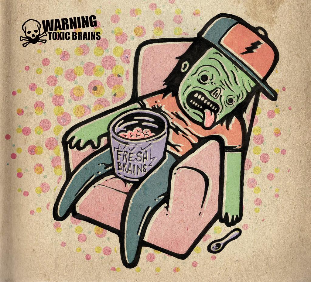 cuidado amigos zombies! | TELENIÑO | Flickr