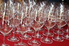 champagne(0.0), wine(0.0), champagne stemware(0.0), drink(0.0), alcoholic beverage(0.0), glass harp(1.0), wine glass(1.0), drinkware(1.0), stemware(1.0), tableware(1.0), glass(1.0),