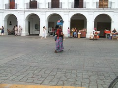 Zocalo in Juchitan
