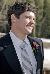 hairstyle, groom, clothing, male, man, formal wear, tuxedo, suit, person, gentleman,