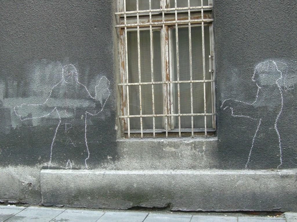 streetart | silhouette | krakow 2007