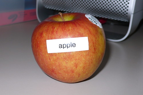 Goin' nuts with the label maker