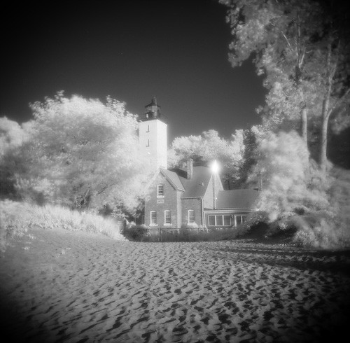 how to use hoya r72 infrared filter